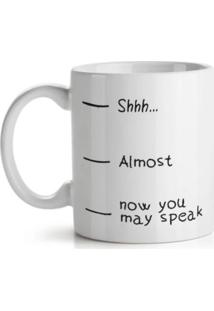 Caneca Now You May Speak Geek10 - Branco