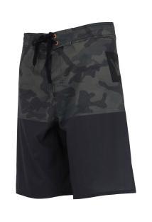Bermuda Hang Loose Army - Masculina - Preto/Verde Escuro