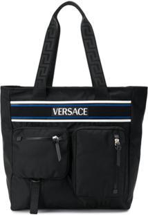 Versace Pochete Versace Olympus - Preto