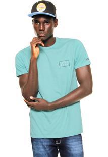 Camiseta Billabong Orbit Verde