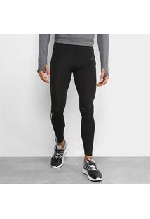 Calça Adidas Run 3Stripes Masculina - Masculino-Preto+Branco