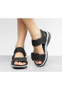 Sandália Modare Velcro Feminina - Feminino-Preto