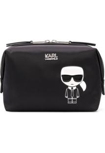 Karl Lagerfeld Necessaire Ikonik - Preto