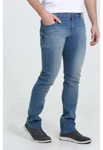 Calça Masculina Slim Jeans Puídos Marisa
