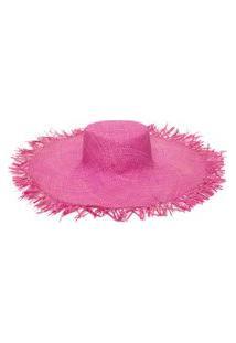 Chapéu Feminino Dunas Hat - Rosa