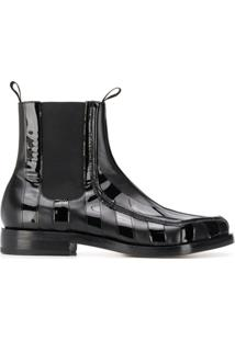 Magliano Ankle Boot Envernizado - Preto