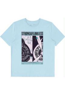 Camiseta Azul Hangar