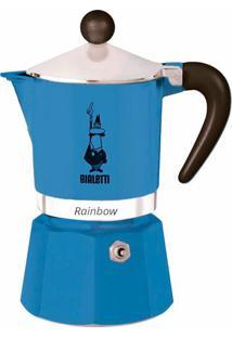 Cafeteira Bialetti Rainbow Azul Escuro 3 Xícaras - 27157