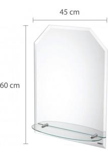 Espelho Amazonas Com Bisotê 45Cm X 60Cm Astra