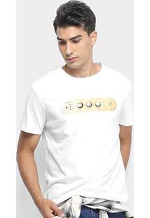 Camiseta Reserva Amplificador Masculina - Masculino-Branco