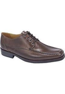 Sapato Social Derby Sandro Moscoloni Ryan Masculino - Masculino-Marrom Escuro