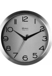 b6868a2980e ... Relógio De Parede Analógico Moderno Mecanismo Step Tic Tac Herweg Branco