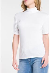 Blusa Mc Slim Logo Vst Ga - Branco 2 - Pp
