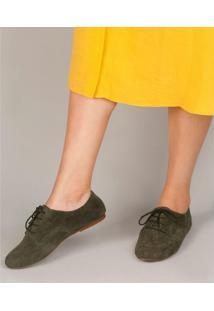 Sapato Soulier Oxford Pimenta - Verde Verde