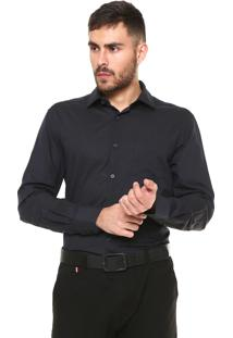 Camisa Vr Urban Fit Listrada Preta