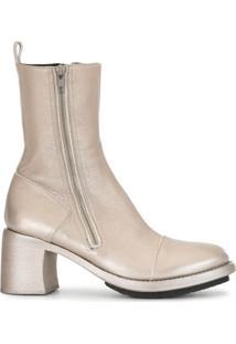 Ann Demeulemeester Ankle Boot Paradig - Dourado