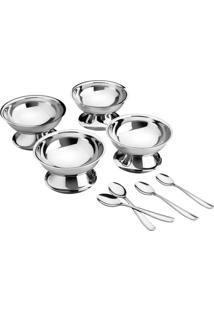 Kit Para Sobremesa Aço Inox 8 Pç. - Service - Tramontina