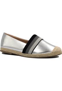 Alpargata Zariff Shoes Casual Metalizada