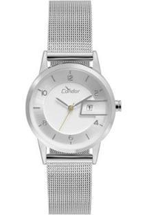 Relógio Condor Feminino Eterna Bracelete - Cogl10Bo/3K Cogl10Bo/3K - Feminino-Prata