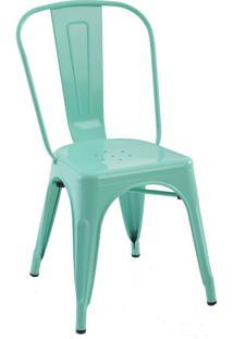 Cadeira Iron Sem Braços Verde Rivatti Móveis