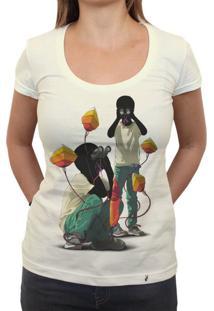 Where - Camiseta Clássica Feminina