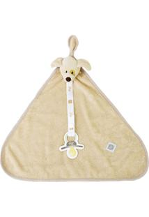 Cobertor Cachorrinho - Bege- 25X37Cm - Zip Toysbicho Molhado