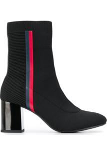Tommy Hilfiger Ankle Boot Meia - 990 Black