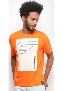 Camiseta Ellus Sport Dlx Masculina - Masculino-Laranja