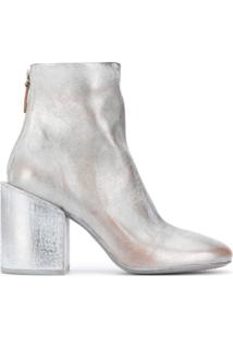 Marsèll Ankle Boot Com Efeito Metálico E Destroyed - Cinza