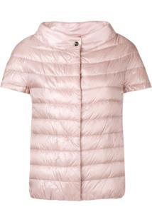 Herno Shortsleeved Puffer Jacket - Rosa