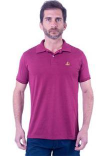 Camisa Polo Clube Náutico Slim Basic Masculino - Masculino