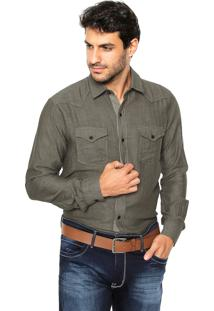 Camisa Sergio K Slim Verde