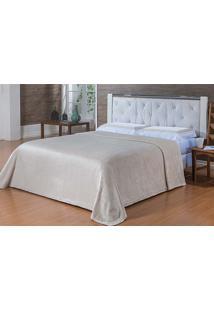 Cobertor Microfibra Toque De Seda Casal 1,80X2,20M - Niazitex - Marfim