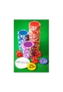 Painel Adesivo De Parede - Pôquer - Poker - 1440Pnp