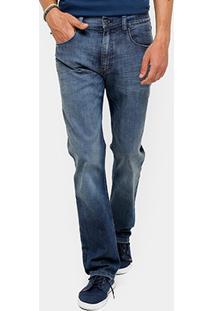 Calça Jeans Slim Ellus Stone Marmorizada Masculina - Masculino