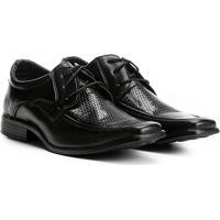 50d3d5c5e6 Sapato Social Walkabout Texturizado Bico Quadrado - Masculino-Preto