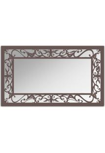 Espelho De Parede 12876I Marrom 70X110 Art Shop