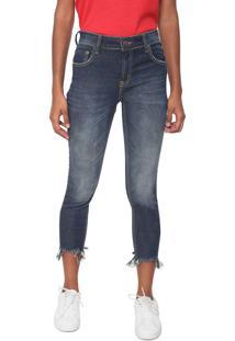 997ffe420 ... Calça Jeans Coca-Cola Jeans Skinny Cropped Milano Azul