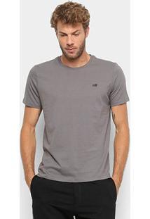 Camiseta Ellus 2Nd Floor Co Basic Masculina - Masculino-Grafite