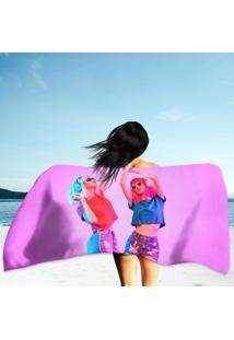 Toalha De Praia / Banho High Fashion