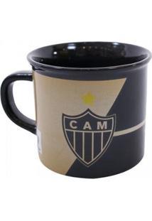 Caneca De Porcelana 400Ml Atlético Mineiro - Unissex