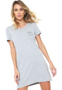 Camisola Calvin Klein Underwear Curta Estampada Cinza