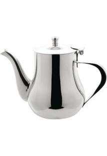 Bule Bojudo Pequeno Para Cafã©, Chã¡, Leite Em Inox 680Ml - Cinza/Prata - Dafiti