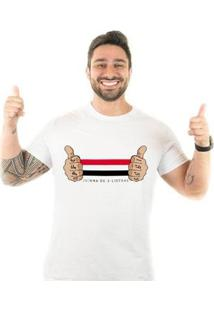 Camiseta Zé Carretilha Tricolor Joinha - Masculino
