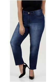 Calça Feminina Jeans Cigarrete Plus Size Marisa