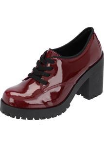 Sapato Oxford Cr Shoes Vermelho
