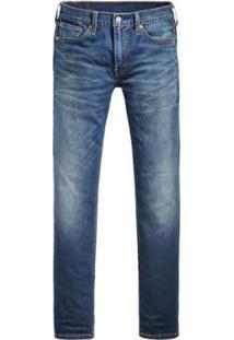 Calça Jeans Levis 511 Slim Performance Cool - Masculino-Azul Royal