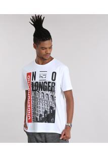 """Camiseta """"Underground"""" Branca"""