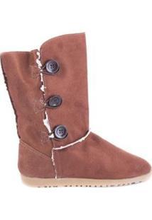 Bota Feminina Suéde Jr Shoes - Feminino