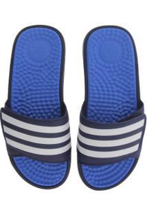 Chinelo Adidas Adissage Tnd - Slide - Masculino - Azul Esc/Azul